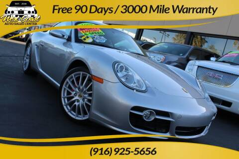 2008 Porsche Cayman for sale at West Coast Auto Sales Center in Sacramento CA