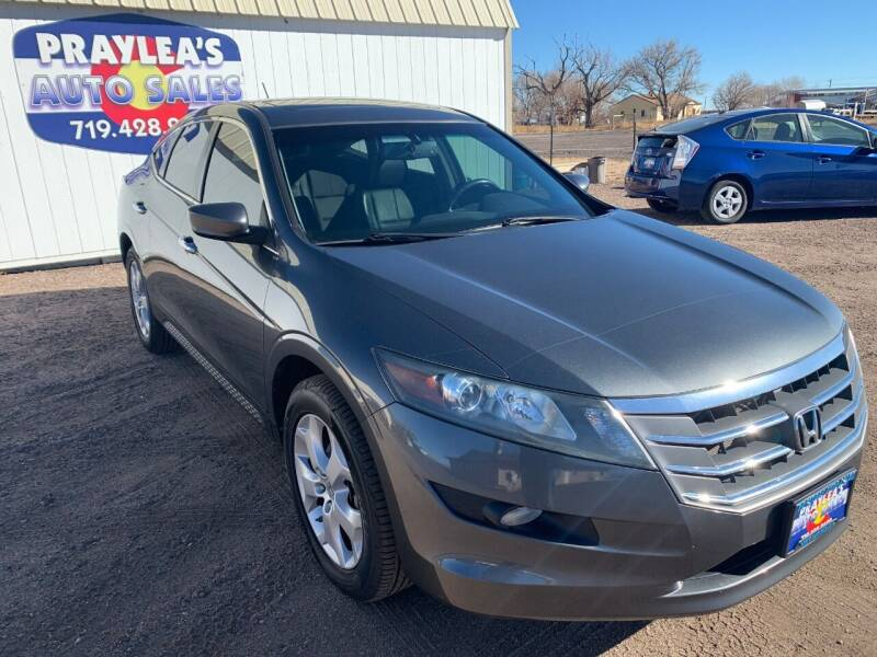 2012 Honda Crosstour for sale at Praylea's Auto Sales in Peyton CO