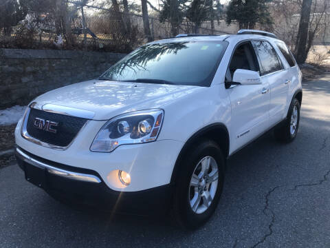 2007 GMC Acadia for sale at D'Ambroise Auto Sales in Lowell MA