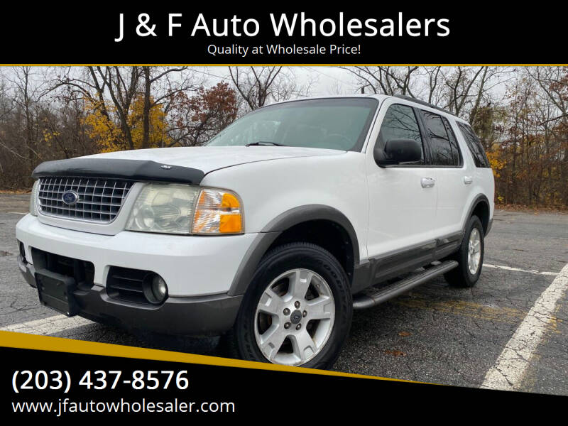 2004 Ford Explorer for sale at J & F Auto Wholesalers in Waterbury CT