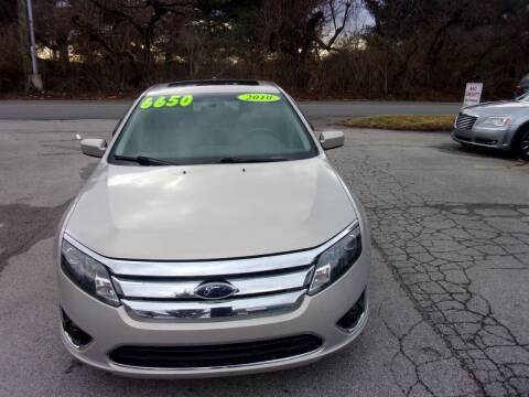 2010 Ford Fusion for sale at Auto Sales Sheila, Inc in Louisville KY