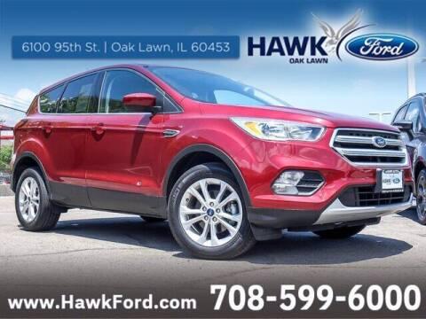 2019 Ford Escape for sale at Hawk Ford of Oak Lawn in Oak Lawn IL