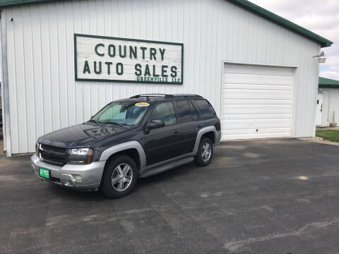 2007 Chevrolet TrailBlazer for sale at COUNTRY AUTO SALES LLC in Greenville OH