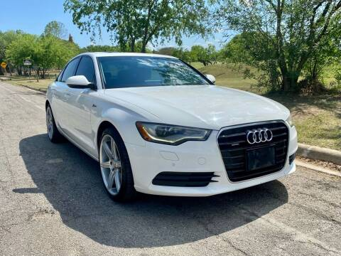 2013 Audi A6 for sale at Texas Auto Trade Center in San Antonio TX