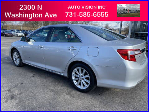 2014 Toyota Camry for sale at Auto Vision Inc. in Brownsville TN