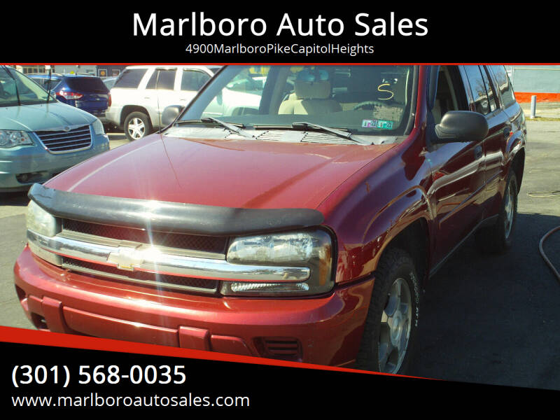 2007 Chevrolet TrailBlazer for sale at Marlboro Auto Sales in Capitol Heights MD