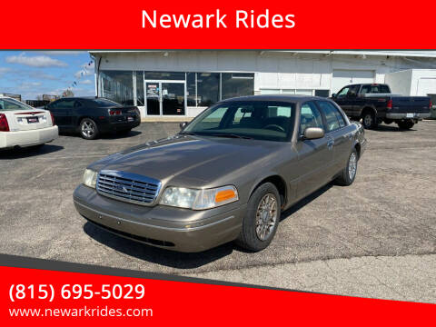 2002 Ford Crown Victoria for sale at Newark Rides in Newark IL