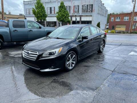 2015 Subaru Legacy for sale at East Main Rides in Marion VA