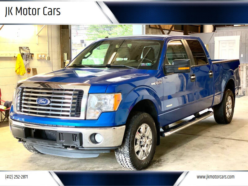 2011 Ford F-150 for sale at JK Motor Cars in Pittsburgh PA
