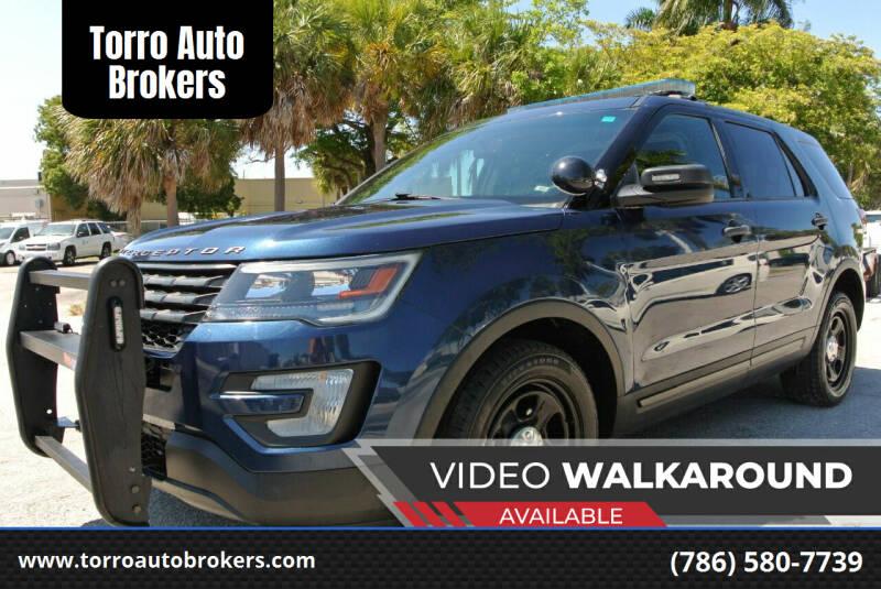 2017 Ford Explorer for sale at Torro Auto Brokers in Miami FL