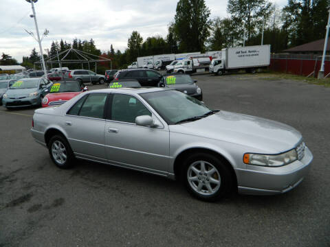 2003 Cadillac Seville for sale at J & R Motorsports in Lynnwood WA