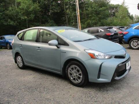 2015 Toyota Prius v for sale at MC FARLAND FORD in Exeter NH
