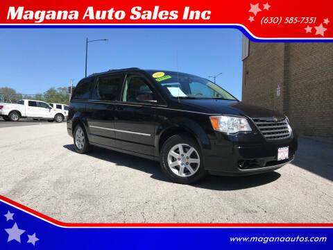 2010 Chrysler Town and Country for sale at Magana Auto Sales Inc in Aurora IL