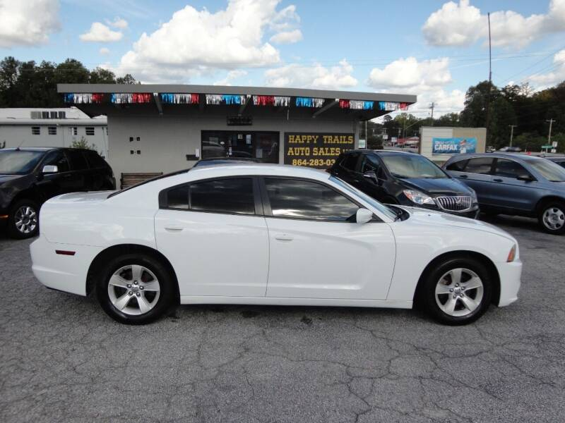2014 Dodge Charger for sale at HAPPY TRAILS AUTO SALES LLC in Taylors SC