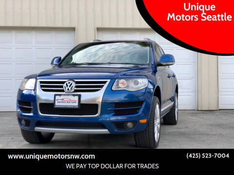 2010 Volkswagen Touareg for sale at Unique Motors Seattle in Bellevue WA