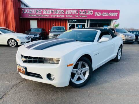 2011 Chevrolet Camaro for sale at LUXURY IMPORTS AUTO SALES INC in North Branch MN