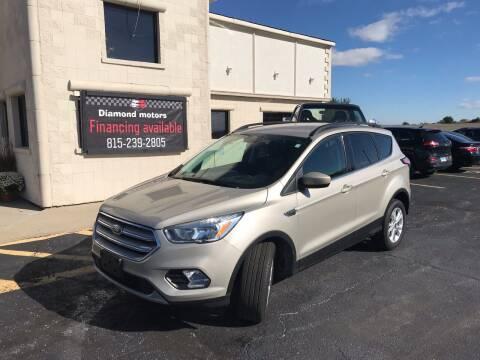 2018 Ford Escape for sale at Diamond Motors in Pecatonica IL