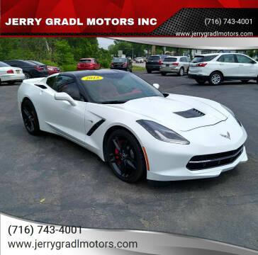 2015 Chevrolet Corvette for sale at JERRY GRADL MOTORS INC in North Tonawanda NY