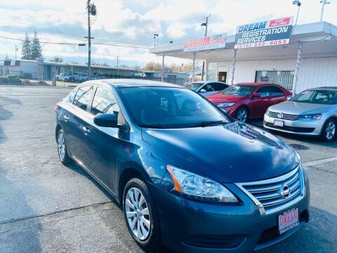 2014 Nissan Sentra for sale at Dream Motors in Sacramento CA