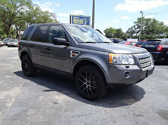 2008 Land Rover LR2 for sale at DONNY MILLS AUTO SALES in Largo FL