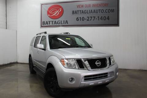 2011 Nissan Pathfinder for sale at Battaglia Auto Sales in Plymouth Meeting PA