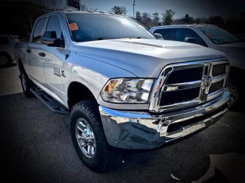 2016 RAM Ram Pickup 2500 for sale at Carder Motors Inc in Bridgeport WV