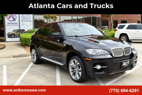 2012 BMW X6 for sale at Atlanta Cars and Trucks in Kennesaw GA