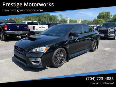 2015 Subaru WRX for sale at Prestige Motorworks in Concord NC