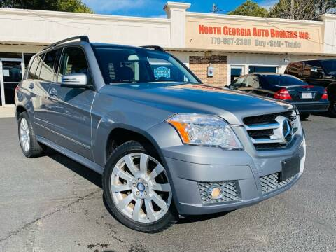 2012 Mercedes-Benz GLK for sale at North Georgia Auto Brokers in Snellville GA