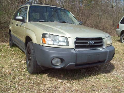 2003 Subaru Forester for sale at Frank Coffey in Milford NH