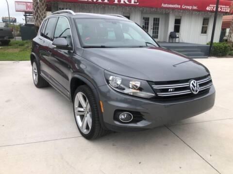 2016 Volkswagen Tiguan for sale at Empire Automotive Group Inc. in Orlando FL