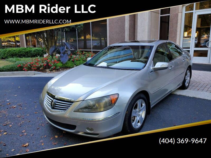 2006 Acura RL for sale at MBM Rider LLC in Alpharetta GA