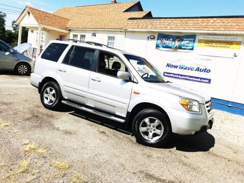 2006 Honda Pilot for sale at New Wave Auto of Vineland in Vineland NJ