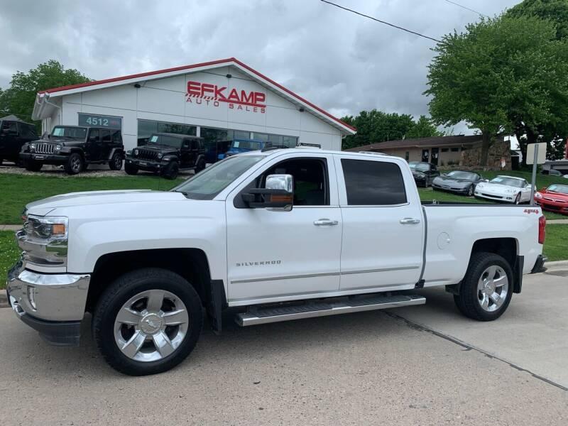 2018 Chevrolet Silverado 1500 for sale at Efkamp Auto Sales LLC in Des Moines IA
