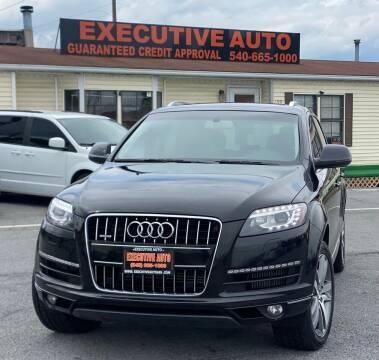 2015 Audi Q7 for sale at Executive Auto in Winchester VA