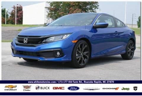 2019 Honda Civic for sale at WHITE MOTORS INC in Roanoke Rapids NC