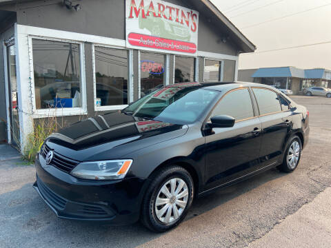 2014 Volkswagen Jetta for sale at Martins Auto Sales in Shelbyville KY