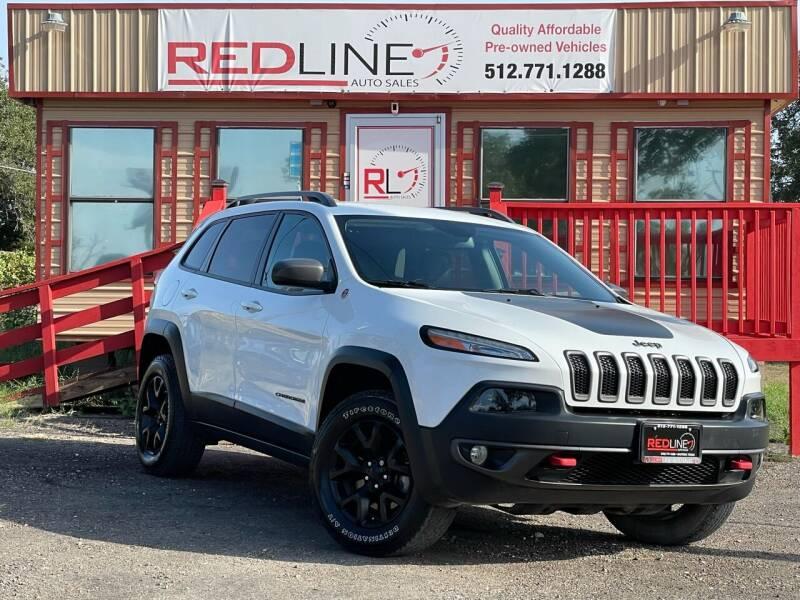 2016 Jeep Cherokee for sale at REDLINE AUTO SALES LLC in Cedar Creek TX