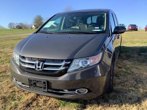2014 Honda Odyssey for sale at Auto Martt, LLC in Harrodsburg KY