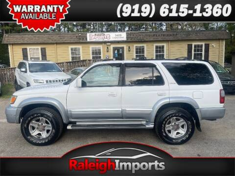 2000 Toyota 4Runner for sale at Raleigh Imports in Raleigh NC