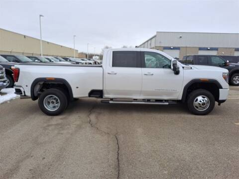 2020 GMC Sierra 3500HD for sale at LENZ TRUCK CENTER in Fond Du Lac WI