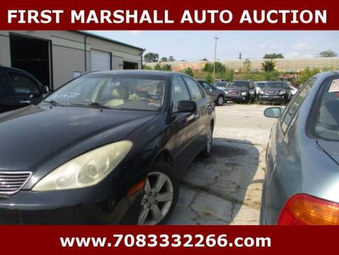 2005 Lexus ES 330 for sale at First Marshall Auto Auction in Harvey IL