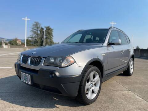 2005 BMW X3 for sale at Rave Auto Sales in Corvallis OR