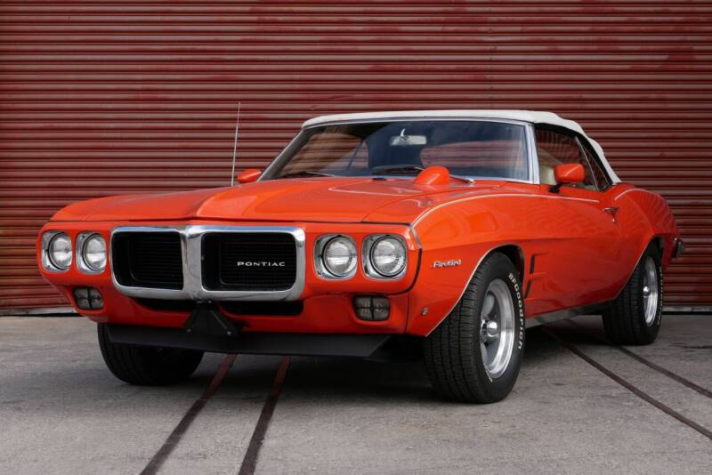1969 Pontiac Firebird 350 for sale at Sierra Classics & Imports in Reno NV