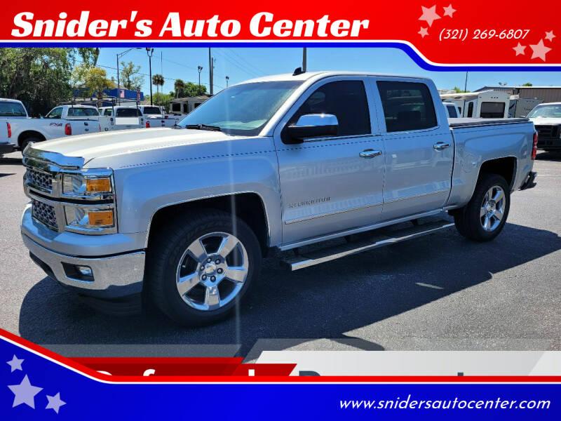 2014 Chevrolet Silverado 1500 for sale at Snider's Auto Center in Titusville FL