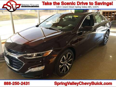 2021 Chevrolet Malibu for sale at Spring Valley Chevrolet Buick in Spring Valley MN