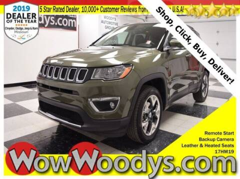 2017 Jeep Compass for sale at WOODY'S AUTOMOTIVE GROUP in Chillicothe MO