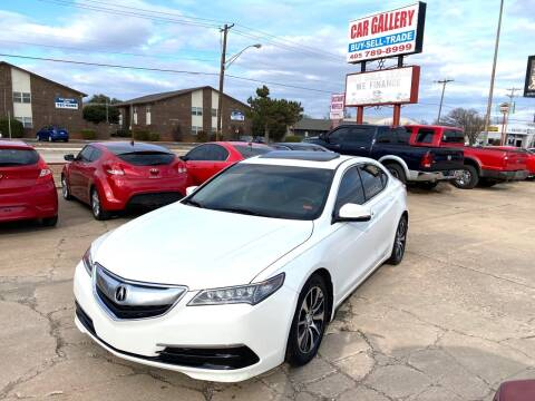 2015 Acura TLX for sale at Car Gallery in Oklahoma City OK