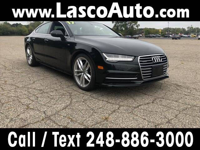 2017 Audi A7 for sale at Lasco of Waterford in Waterford MI