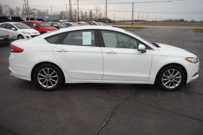 2017 Ford Fusion for sale at Bryan Auto Depot in Bryan OH